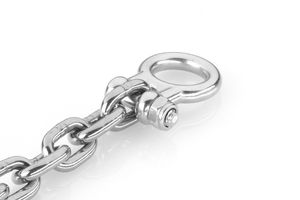 Stainless steel M8 chain shackle