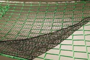 Overlay net with small meshsize