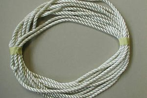 Rope quality in white