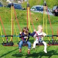 Toddler group swing, 4-seat