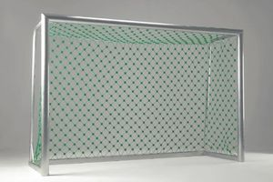 Goal net for football areas
